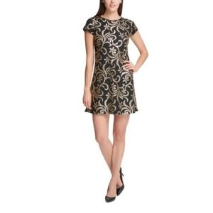Kensie Women's Party Sequined Cocktail Dress